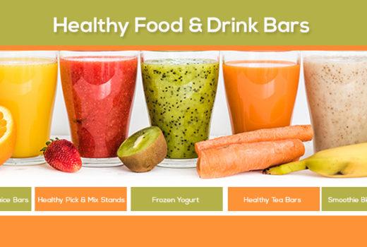 Healthy Food & Drink Bars