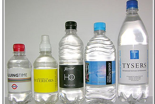 Branded Bottled Water Corporate And Private Events