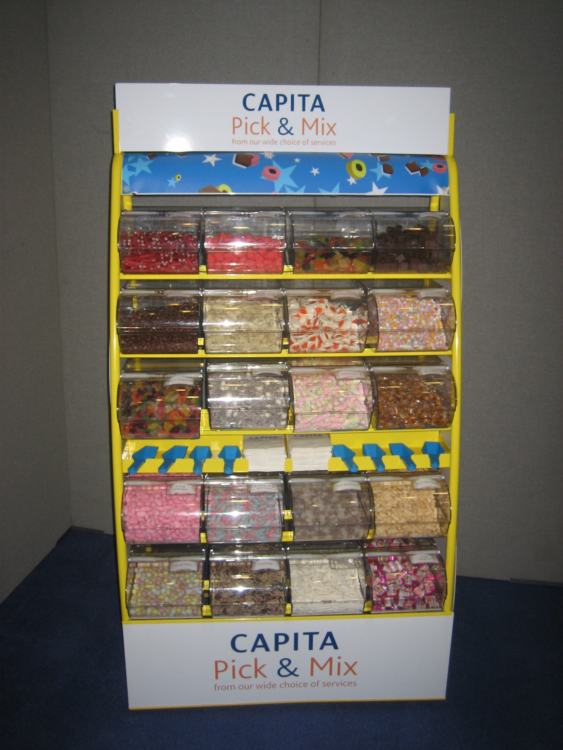 Pick And Mix Sweet Stands Corporate And Private Events