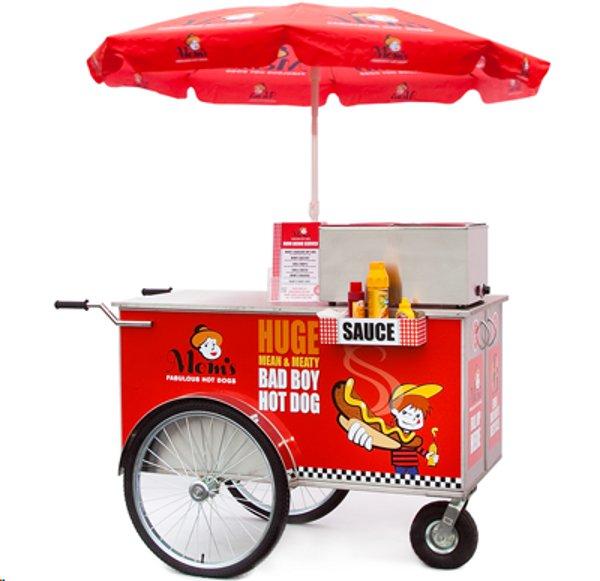 Hot Dog Trolley Dog