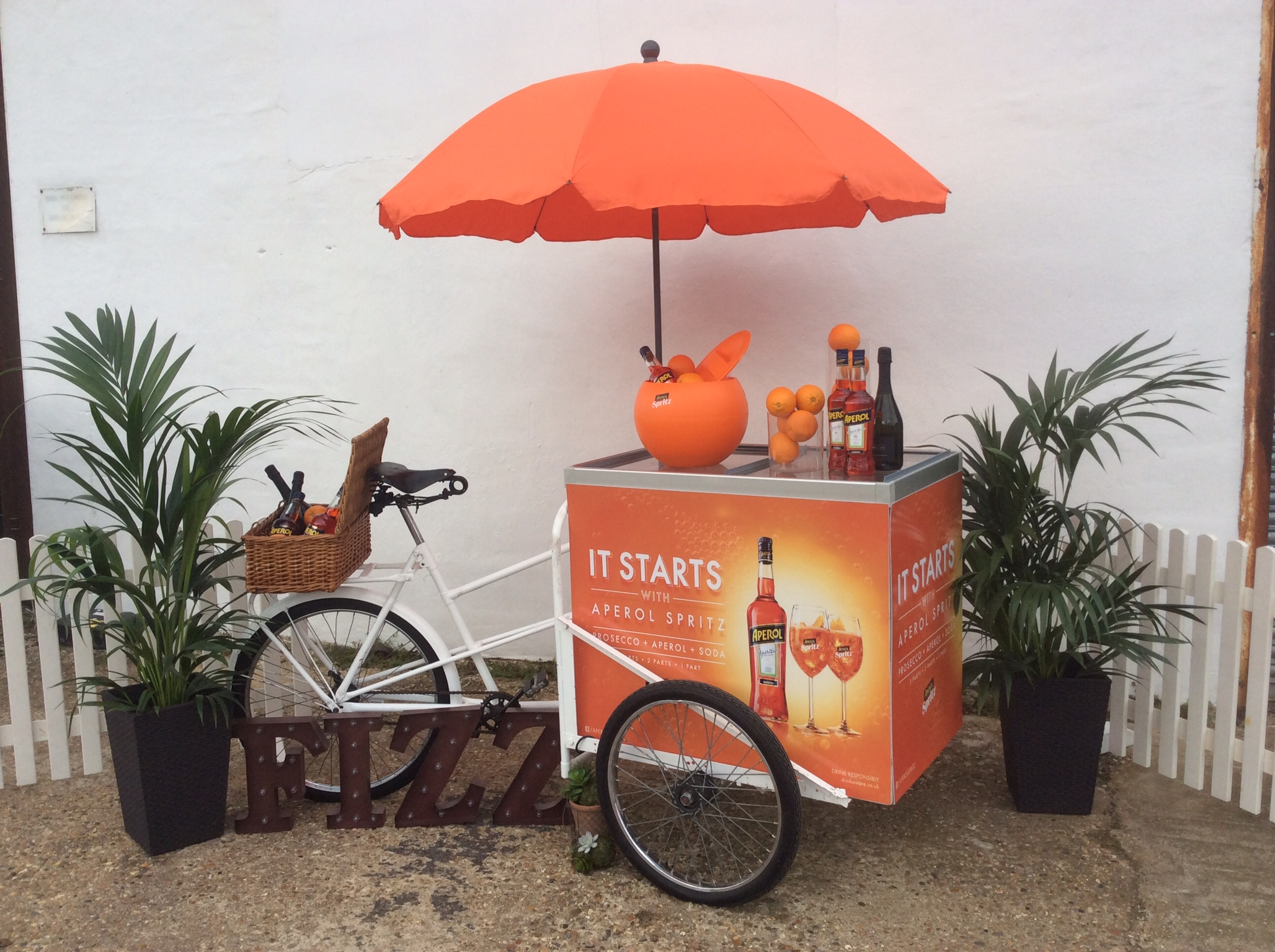 Aperol Spritz Tricycle Corporate And Private Events