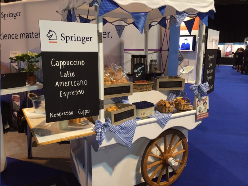 Coffee Cart Hire - Mobile Food and Drink Carts, Tricycles & Kiosk