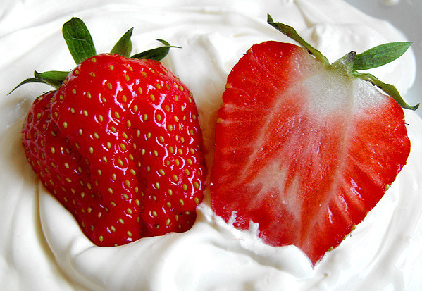 Strawberries & Cream Cart - Mobile Food and Drink Carts, Tricycles & Kiosk